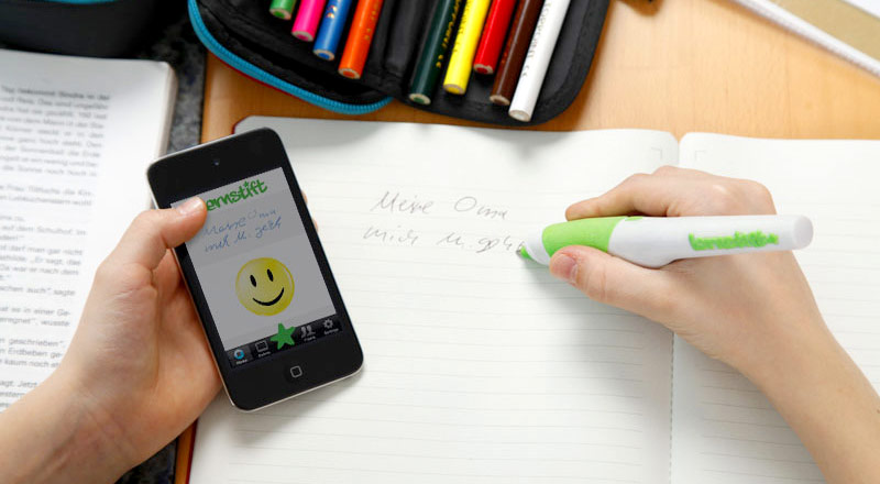 The pen that helps kids learn to write. Digital pen - ingenious tech!